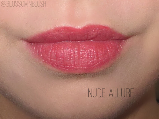 a picture of L'Oreal Infallible Pro Matte Gloss in Nude Allure (lip swatch)