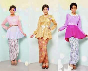 8 Jenis Dan Tipe Model Baju Kurung Wanita Cantik Terbaru 2017