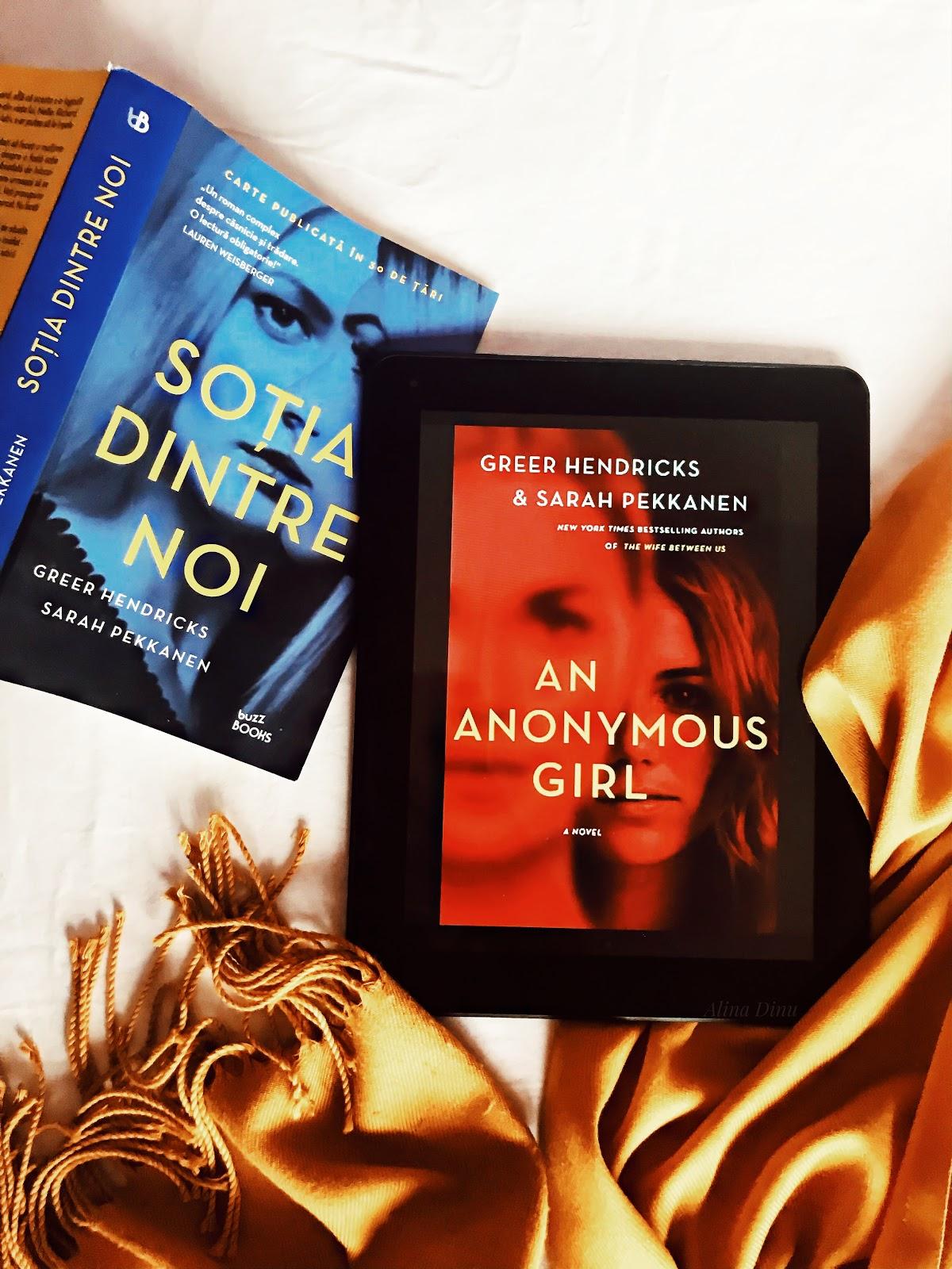 "Review ""An Anonymous Girl"" - Greer Hendricks, Sarah Pekkanen"