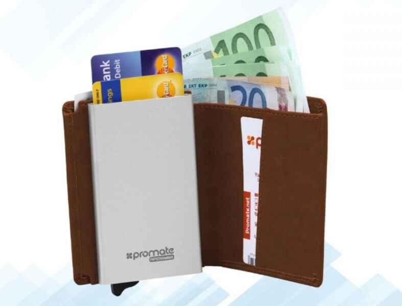 Promate Outs RFIDWallet for Php995; Features RFID-Blocking Against Digital Theft