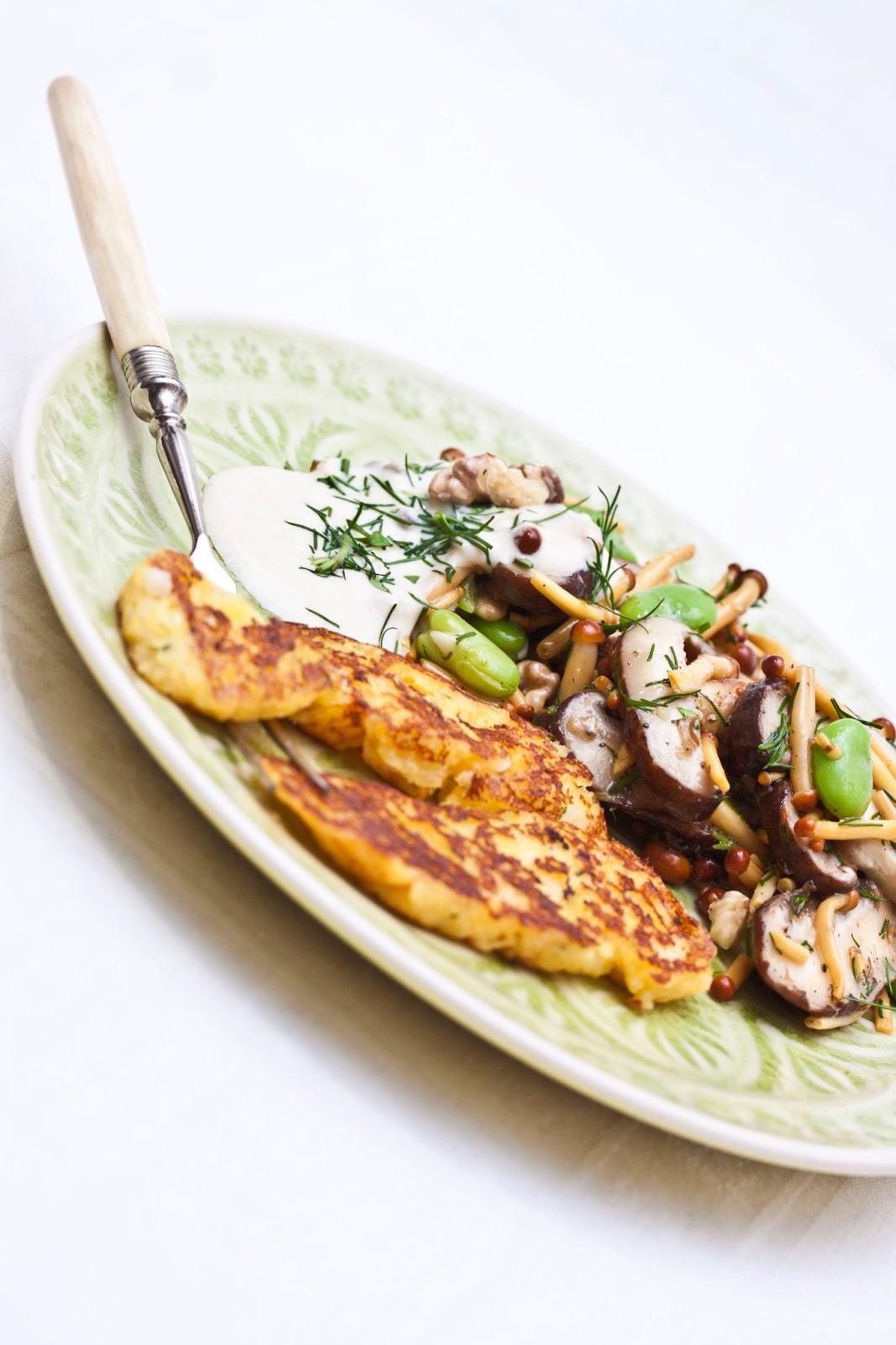shiitake pilze rezept vegetarisch