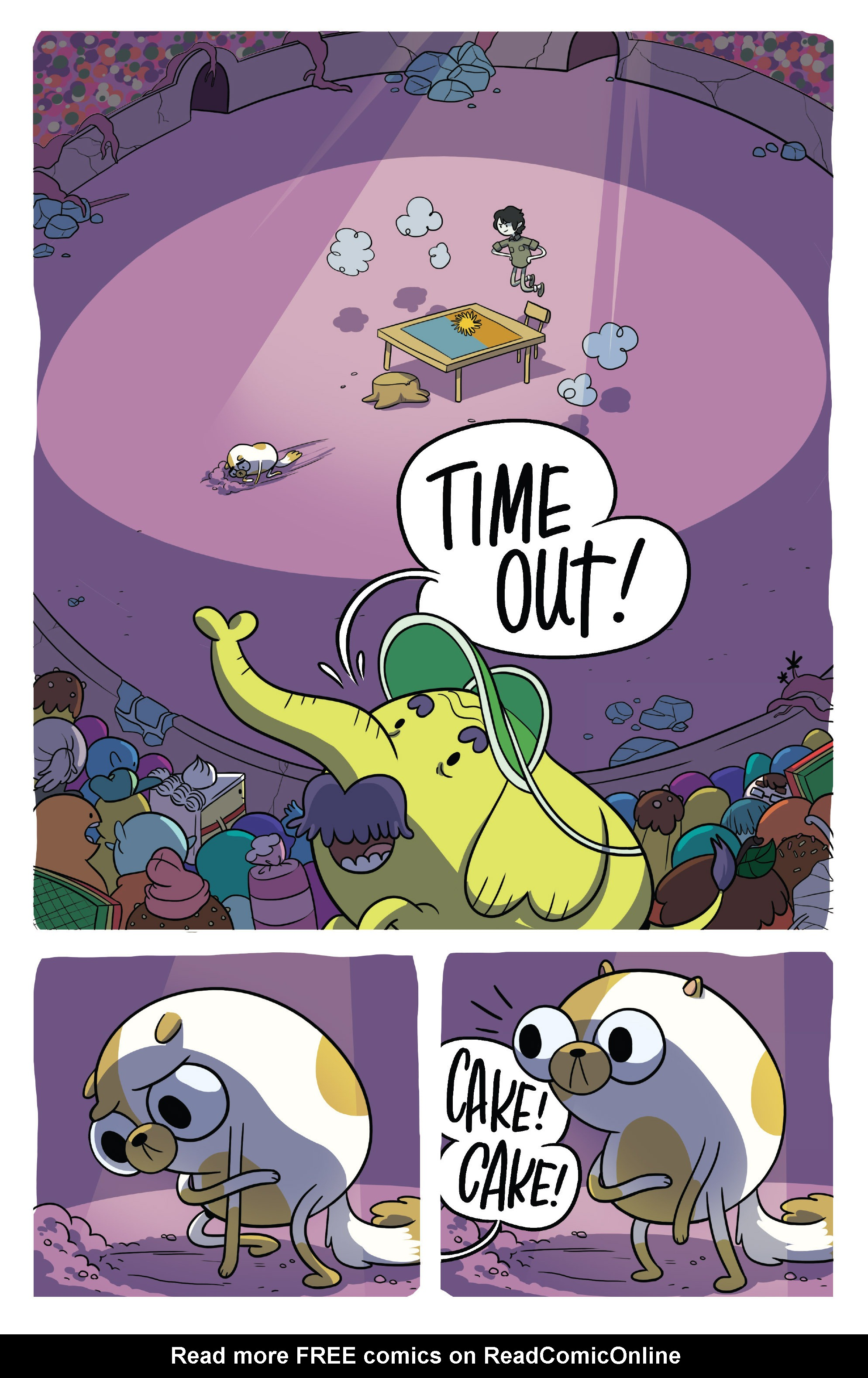 Read online Adventure Time Fionna and Cake Card Wars comic -  Issue #5 - 3