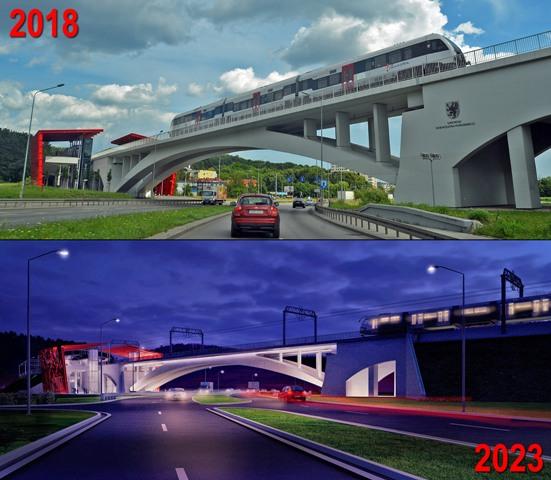 Little And Big News Elektryfikacja Linii Pkm I Nowy Przystanek