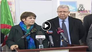 فيديو : تصريح وزيرة التربية الوطنية للتلفزيون الجزائري بخصوص مسابقة الاساتذة 2018