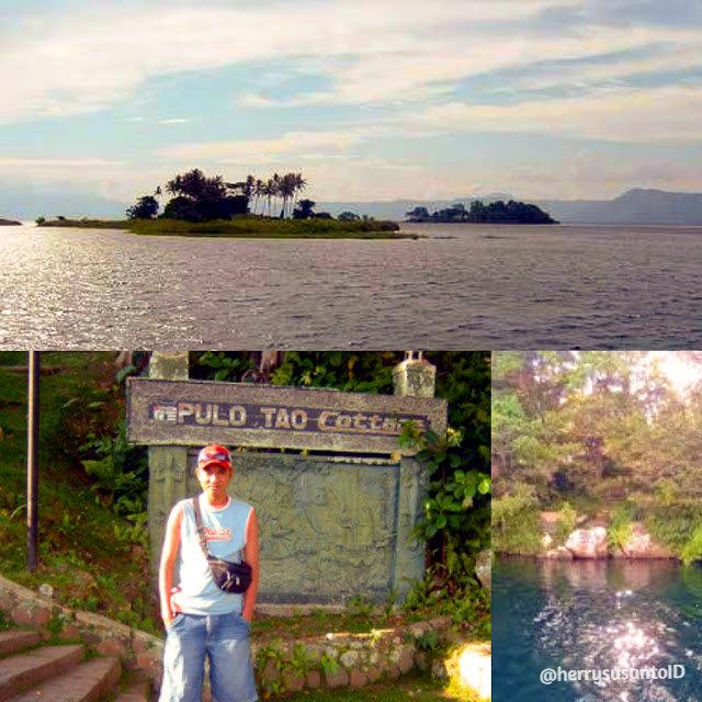 Pulau kecil di Danau Toba yang menjadi pusat perhatian para pelancong