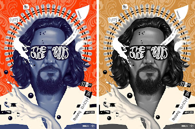 "The Big Lebowski 20th Anniversary ""The Dude Abides"" Screen Print by Doaly x Zavvi"