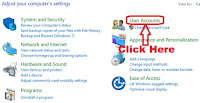 how to change user account type in windows 7