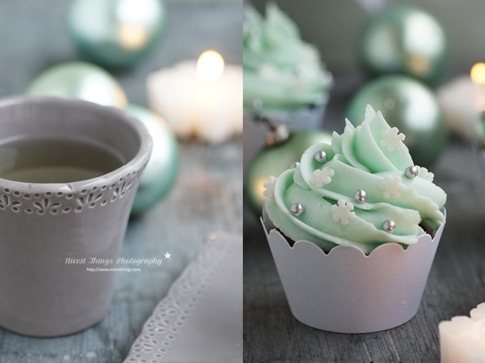 Spekulatius Cupcakes und Tee