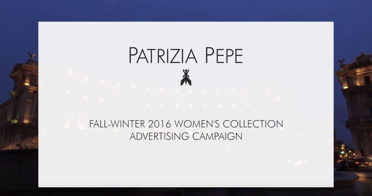 Canzone Pubblicità Patrizia Pepe (collezione Autunno-Inverno 2016) | Musica spot Luglio 2016