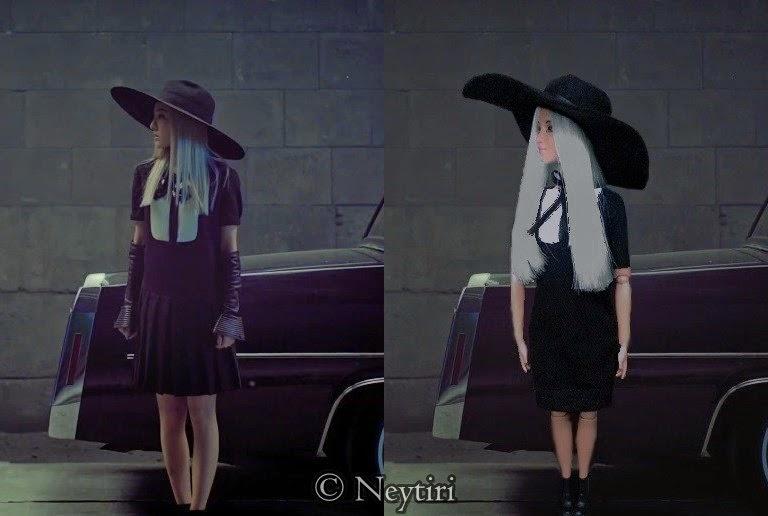 2ne1 Barbie doll Dara Missing You comparition