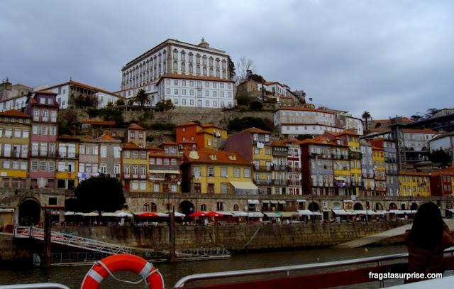 Passeio de barco no Rio Douro, Porto, Portugal
