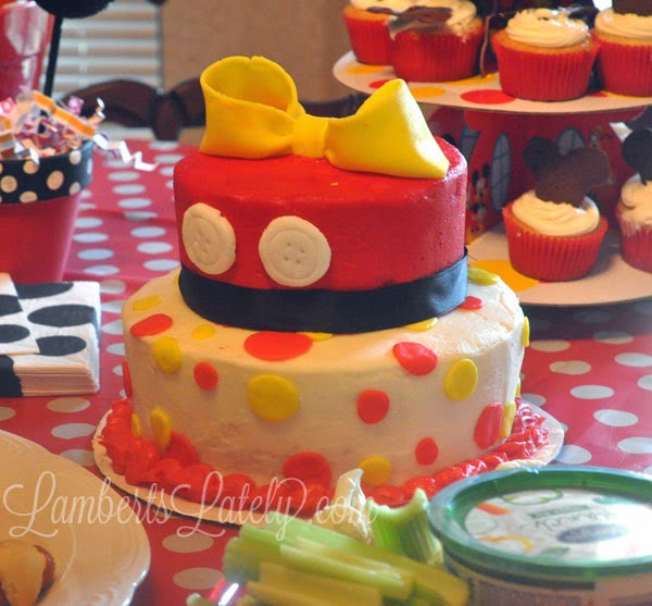 Mickey Mouse Clubhouse Girl Birthday Cake