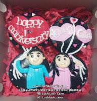 Cupcake Romantis Annivesary Surabaya - Sidoarjo