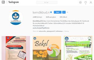 Aksi Kocak Pelajar Kelas 12 SMA Menyerang Instagram Mendikbud