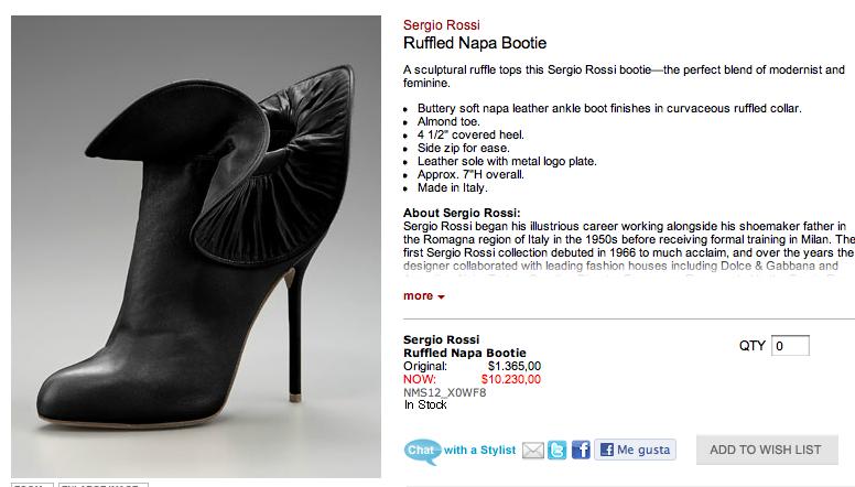 1661dfb9ee Los zapatos de grandes marcas con tanto descuento siguen siendo un  desembolso importante