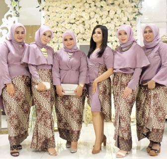 Baju Muslim Kebaya Pesta