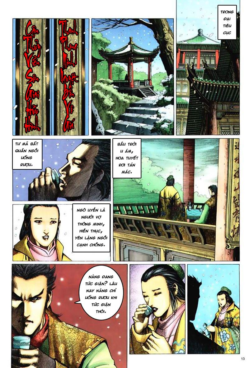 Anh hùng vô lệ Chap 6: Anh hùng hữu lệ trang 13