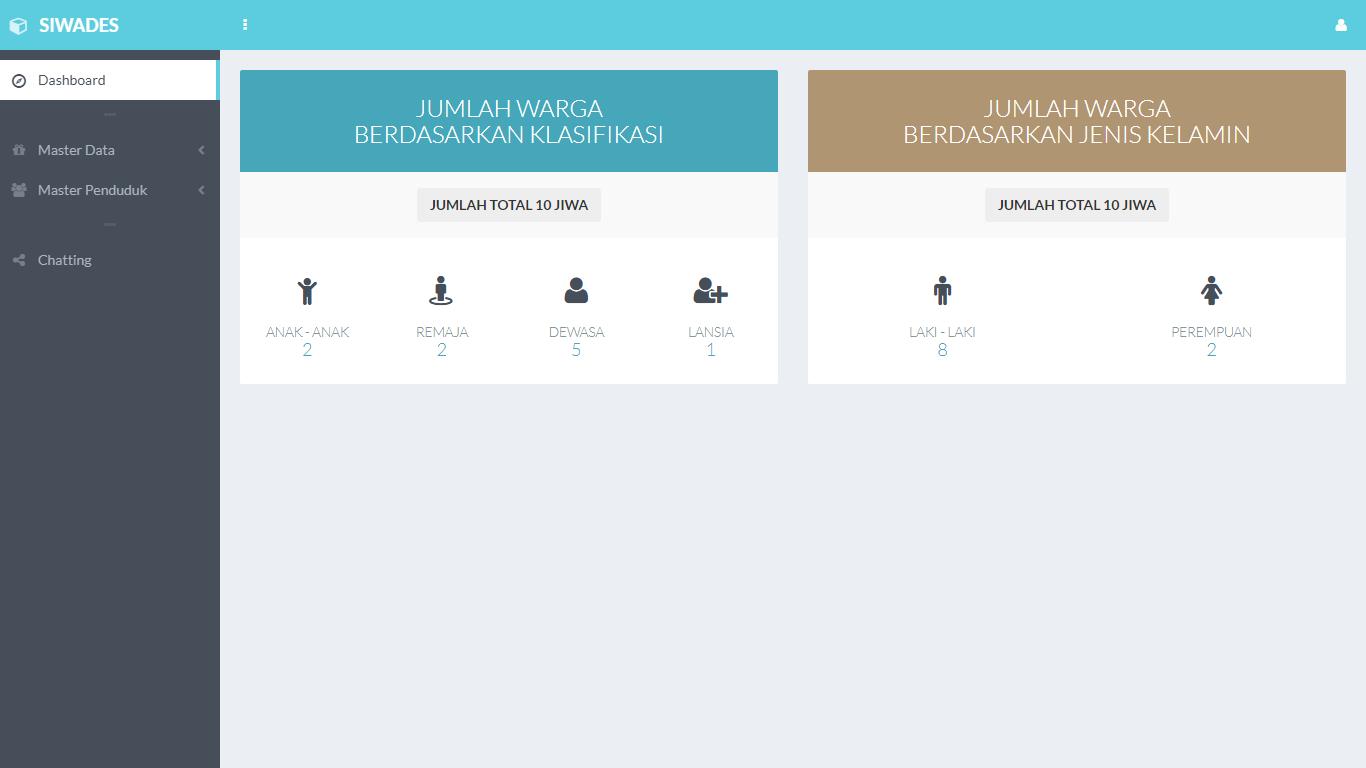 Aplikasi Sistem Informasi Warga Desa - SourceCodeKu.com