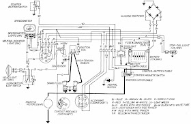 Diagram On Wiring: Honda CB160 and CL160 Motorcycle