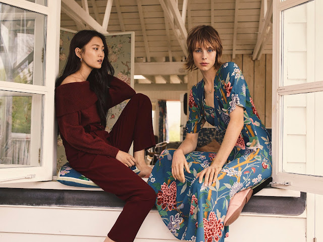 H&M x GP & J BAKER's Womenswear Collection