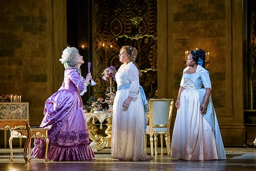 Rosalind Plowright, Eva-Maria Westbroek, Denyce Graves in  Andrea Chenier at Royal Opera House -  © ROH. Bill Cooper 2015