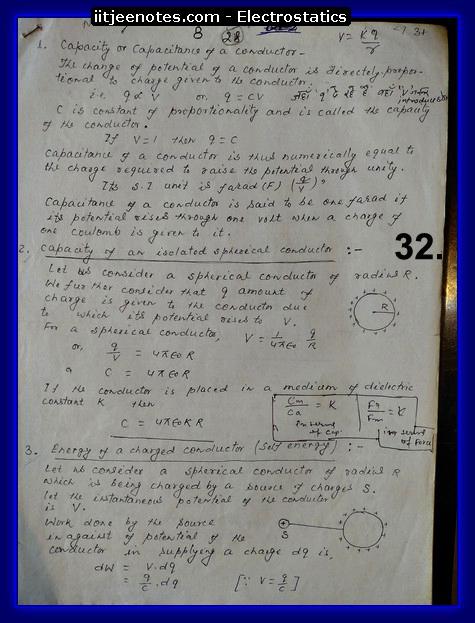 electrostatics questions iitjee