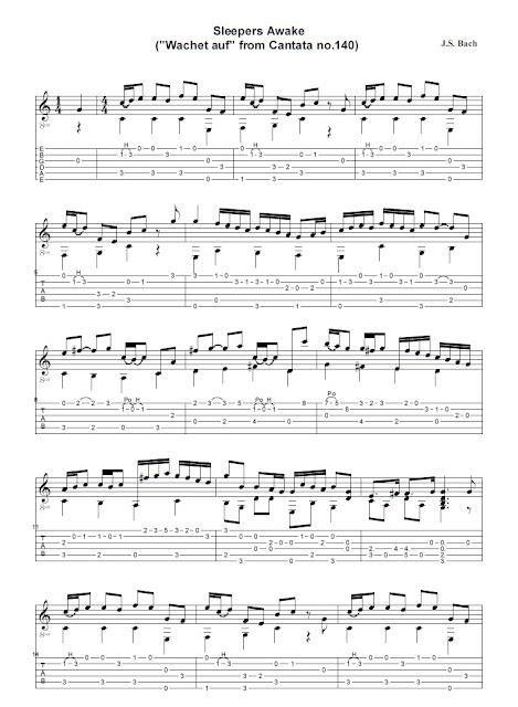Johann Sebastien Bach - Sleepers Awake
