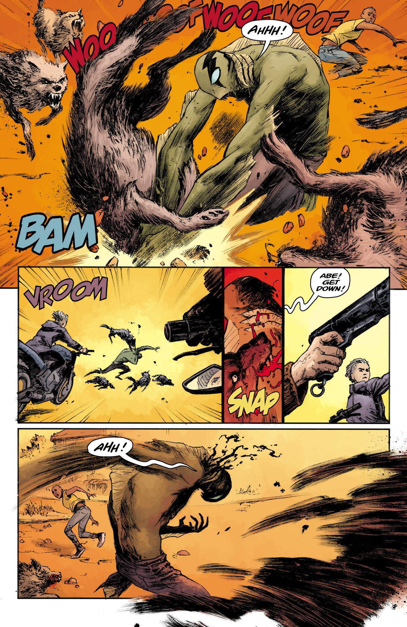Read online Abe Sapien comic -  Issue #16 - 13