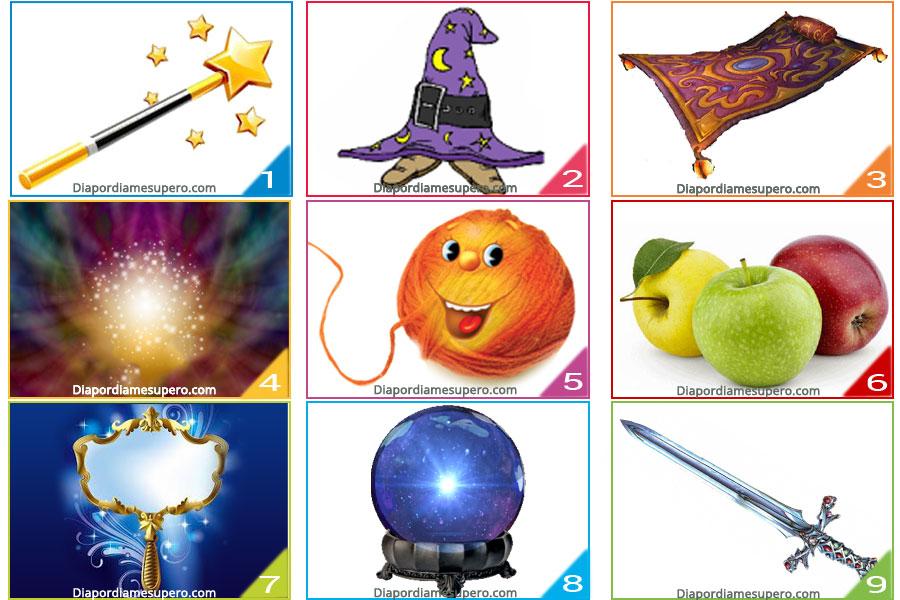 Elige dos objetos mágicos y  descubre tus fortalezas ocultas