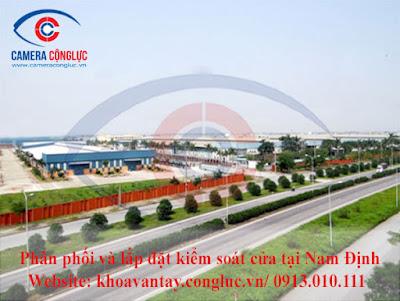 Phân phối và lắp đặt hệ thống kiểm soát cửa tại tỉnh Nam Định
