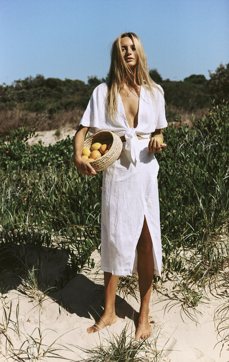 Beach Vibes, Maya Stepper by Brydie Mack for SIR