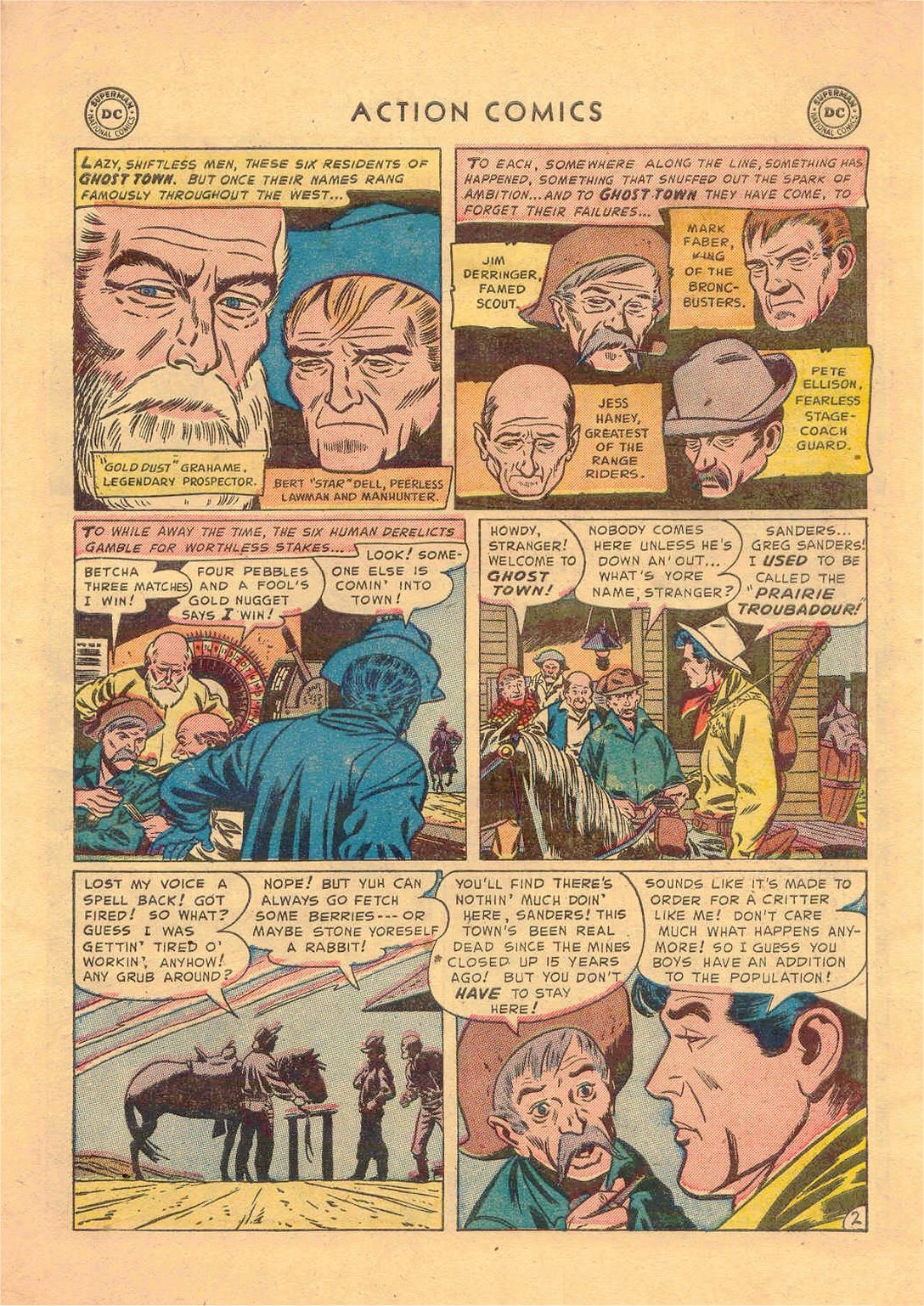 Read online Action Comics (1938) comic -  Issue #181 - 34
