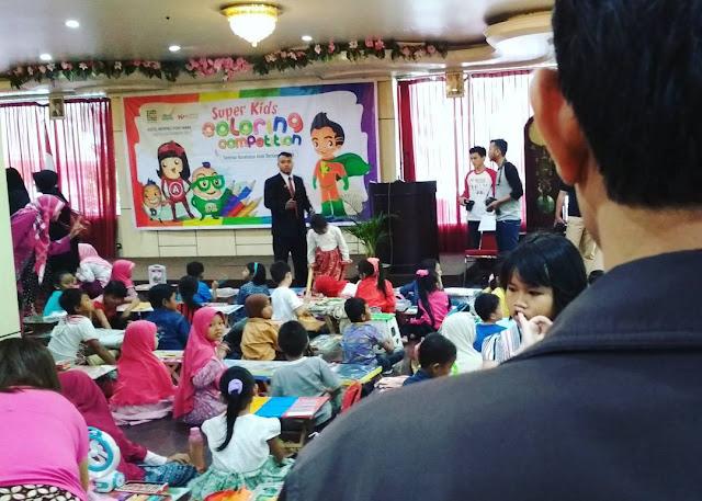 Super Kids Coloring Competition dan Seminar Produk K-Vit C Plus Teavago & K-Kids Omega
