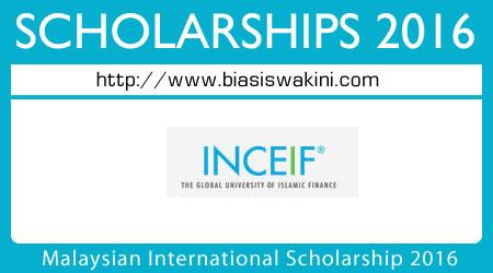 Malaysian International Scholarship 2016