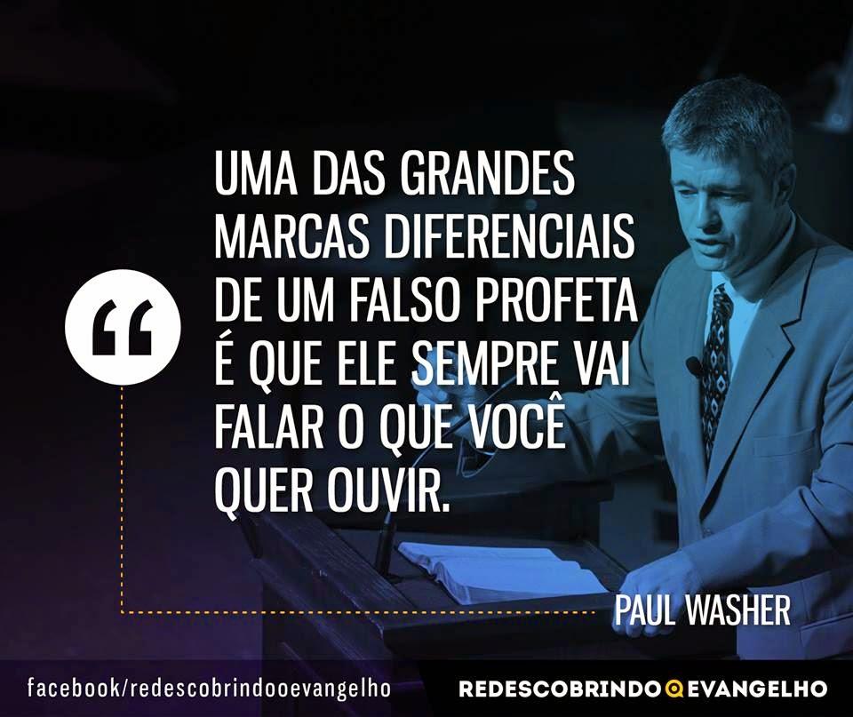 Super Pr. Paul Washer - Frases Cristãs   Acervo da Teologia Rascunho DS77