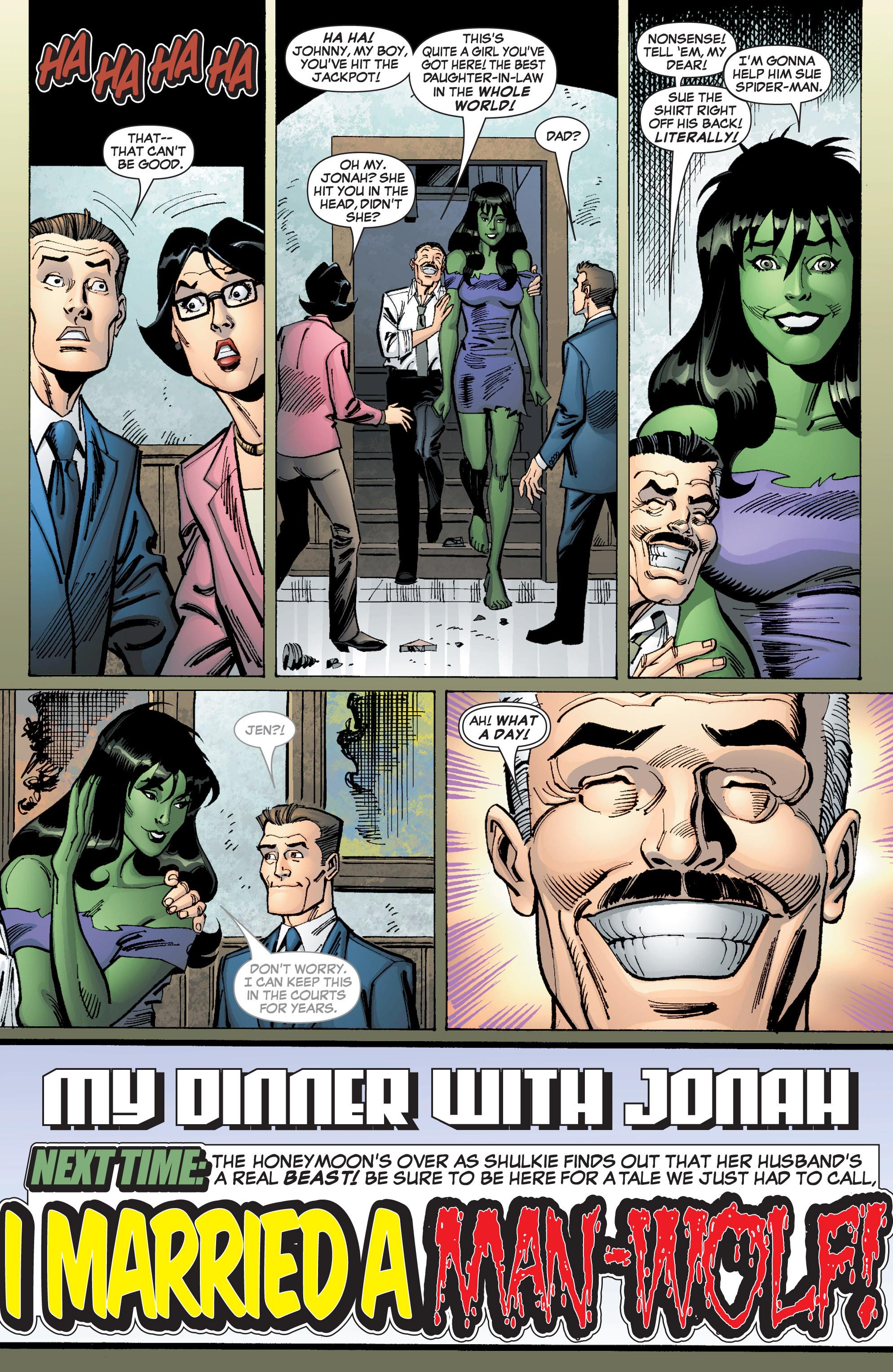 Read online She-Hulk (2005) comic -  Issue #9 - 24