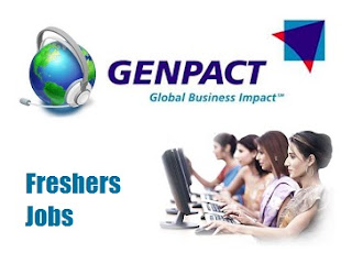 Genpact Mega Walkin Drive for Freshers: BE / BTech / BCA / BSc / MCA