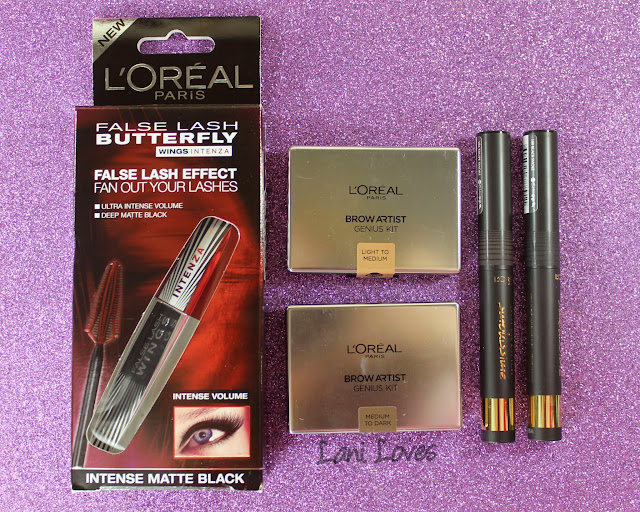 L'Oreal New Releases Late 2015 Swatches & Review