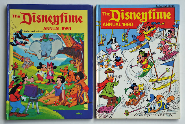 "The British ""The Disneytime Annual"" 1989 and 1990"