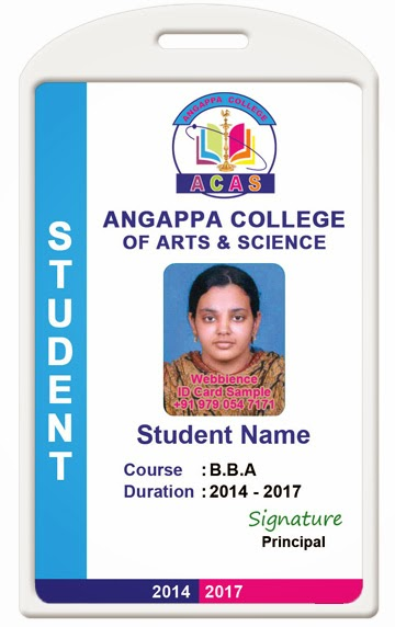 Id card coimbatore ph 97905 47171 college id card for School id badge template