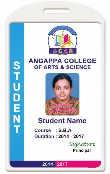ID Card - Coimbatore - Ph 97905 47171 College ID Card Template 1407