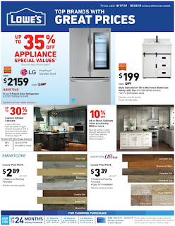 ⭐ Lowes Ad 10/17/19 ⭐ Lowes Weekly Ad October 17 2019