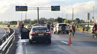 Homem morre atropelado na BR-230 em João Pessoa