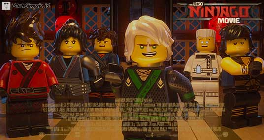 Sinopsis Film The Lego Ninjago Movie 2017