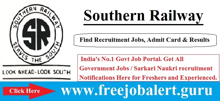 Southern Railway Recruitment 2016, Sports Quota, Southern Railway age limit is 18 to 29 years