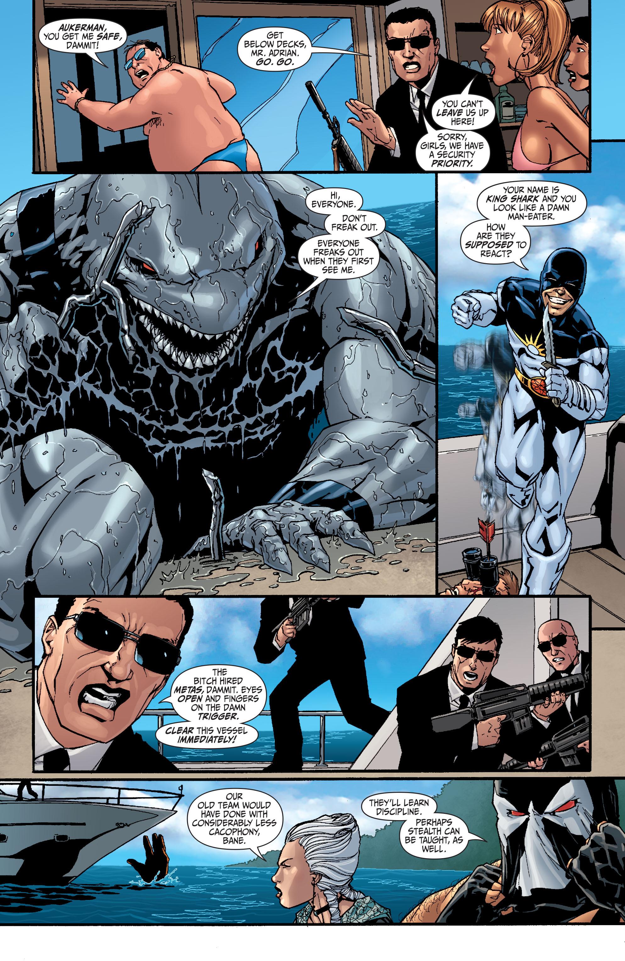 Read online Secret Six (2008) comic -  Issue #25 - 4
