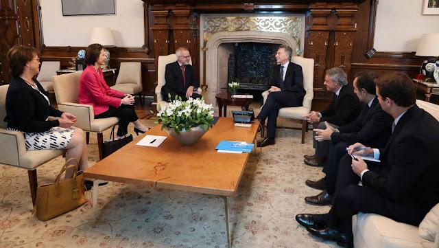Macri se reunió con el titular del Banco Europeo de Inversiones