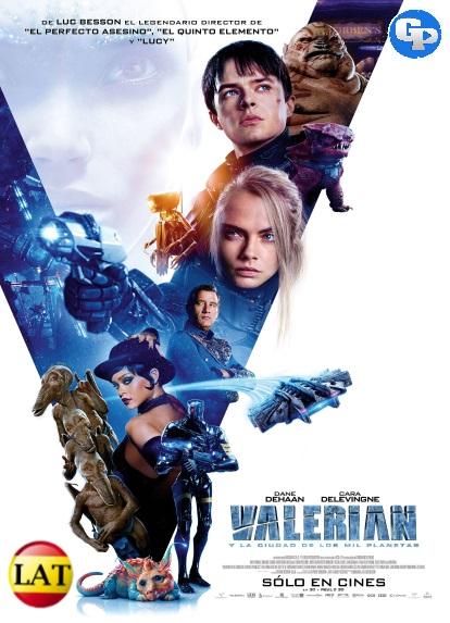 Valerian y la Ciudad de los Mil Planetas (2017) LATINO