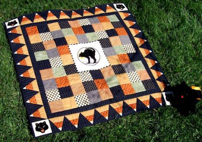 By the Light of the Moon quilt