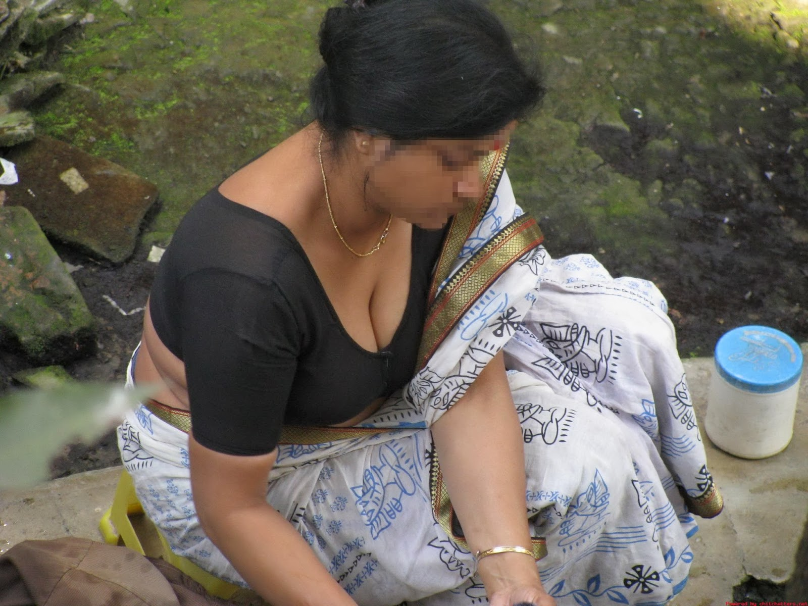 Real Indian Desi Aunties In Working - Telugu Tamil Kerala -1131